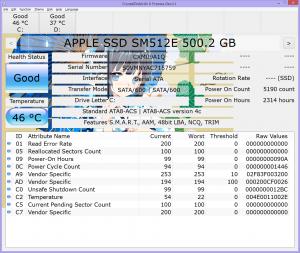 CrystalDiskInfo 6 Dev11