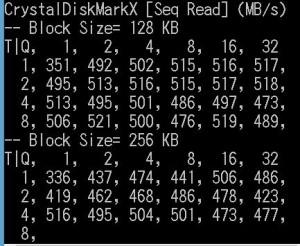 CrystalDiskMark 4 Dev0