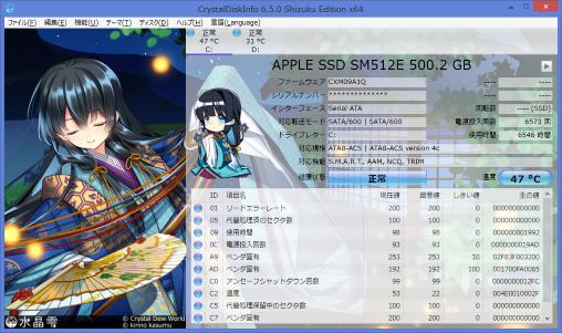 CrystalDiskInfo 6.5.0-2